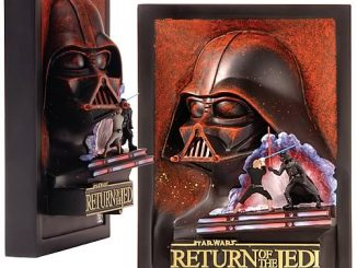 Star Wars Return of the Jedi Mini Movie Poster Sculpture