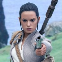 Star Wars Rey The Force Awakens Resistance Outfit Sixth-Scale Figure 8