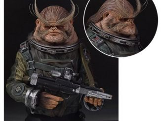 Star Wars Rogue One Bistan Mini-Bust
