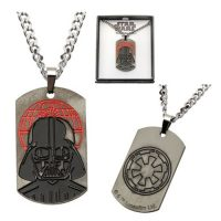 Star Wars Rogue One Darth Vader Dog Tag Pendant Necklace