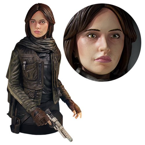 Star Wars Rogue One Jyn Erso Mini Bust