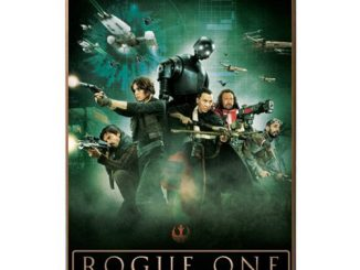 Star Wars Rogue One Movie Poster Wood Wall Art