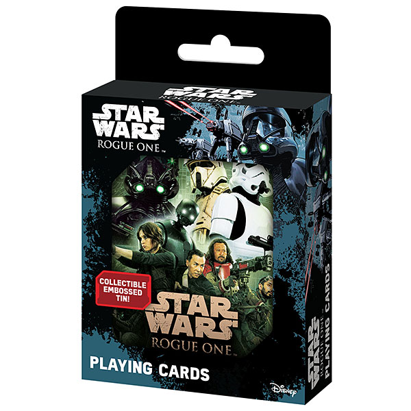 Star Wars Rogue One Playing Card Tin