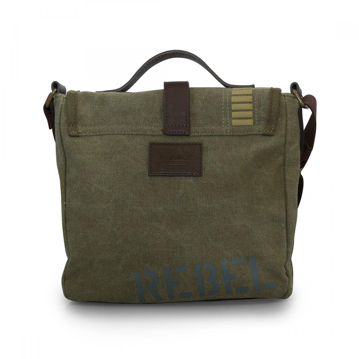 3a00cabe08 Star Wars Rogue One Rebel Alliance Crossbody Messenger Bag