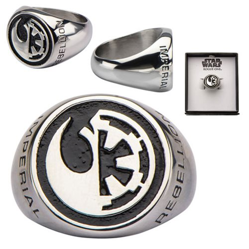 Star Wars Rogue One Rebel Alliance And Galactic Empire Symbol