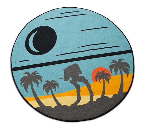 Star Wars Rogue One Scarif Round Rug