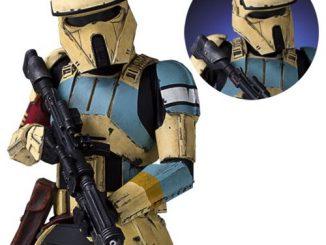 Star Wars Rogue One Scarif Stormtrooper Yellow Mini Bust