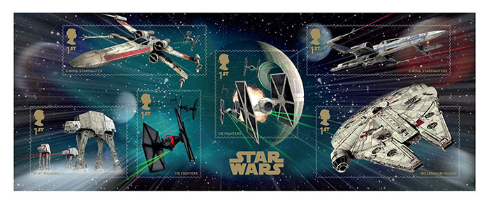 Star Wars Royal Mail Stamp Set