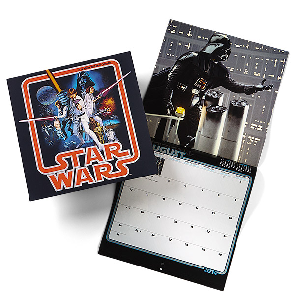 Star Wars Saga 2014 Wall Calendar