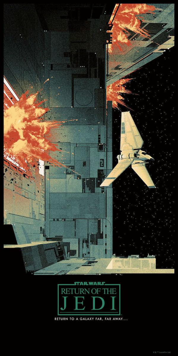 star wars saga art prints