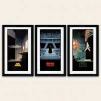 Star Wars Saga Art Prints small