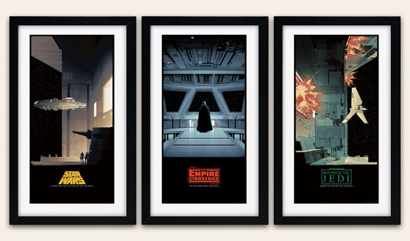 Star Wars Saga Art Prints