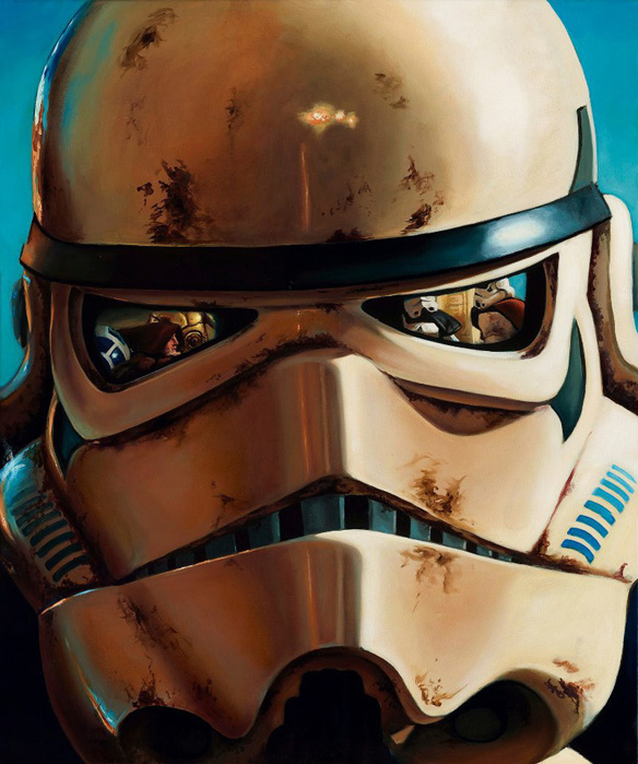 Star Wars Sandtrooper Limited Edition Giclee Art Print
