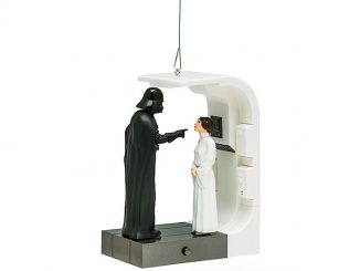 Star Wars Scene - Darth and Leia Ornament