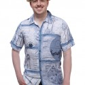Star Wars Schematics Hawaiian Shirt