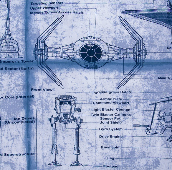 Star Wars Schematics Shirt