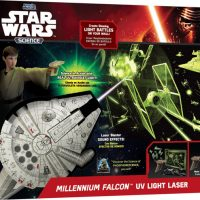 Star Wars Science Millennium Falcon UV Light Laser