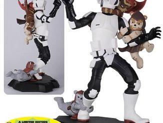 Star Wars Scout Trooper Ewok Attack Maquette