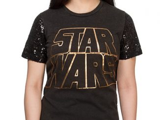 Star Wars Sequin Sleeve Ladies' T-Shirt