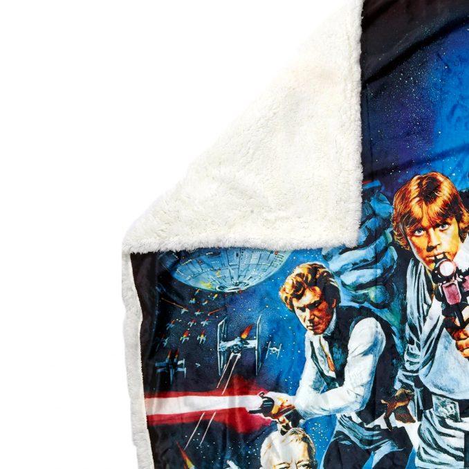 Star Wars Sherpa Throw Blanket