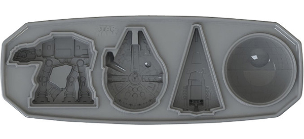 Star Wars Ships Ice Cube Tray Mold