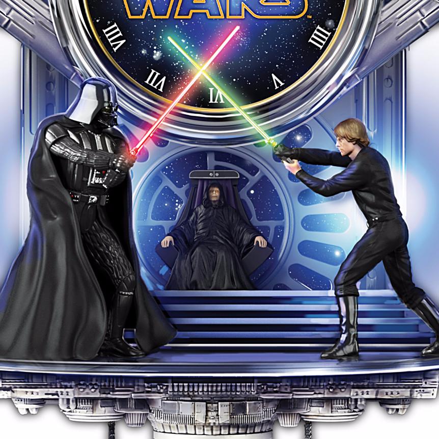 Star Wars Sith Vs Jedi Wall Clock