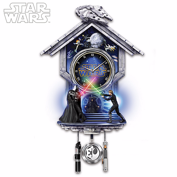 Star Wars Sith vs Jedi Wall Clock