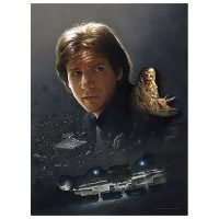 Star Wars Smuggler's Hideaway Canvas Giclee Print