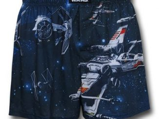Star Wars Space Battle Boxer Shorts