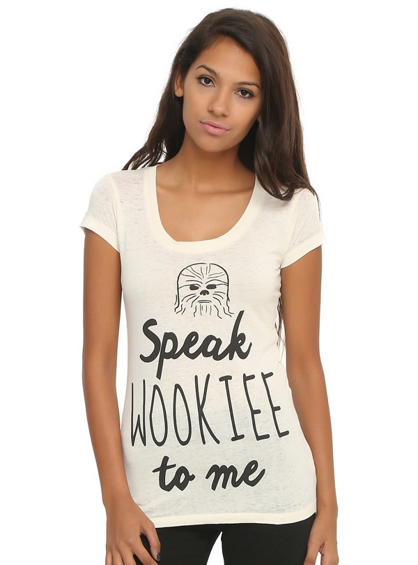 Star Wars Speak Wookiee To Me T-Shirt