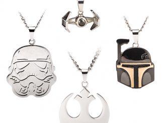 Star Wars Stainless Steel Pendants