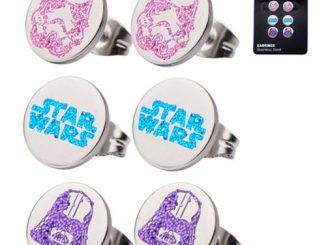 Star Wars Stainless Steel Stud Earring Set