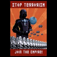 Star Wars Stop Terrorism T-Shirt