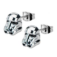 Star Wars Storm Trooper 3-D Stud Earrings