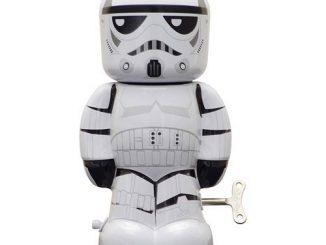 Star Wars Stormtrooper 7 1 2-Inch Wind-Up Tin Toy