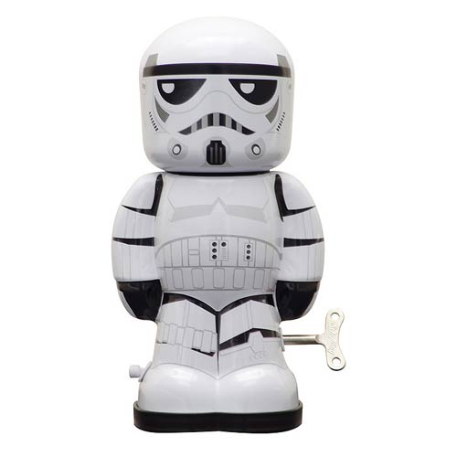 Star Wars Stormtrooper 7 1 2-Inch Wind-Up Tin Toy