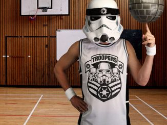 Star Wars Stormtrooper Basketball Jersey