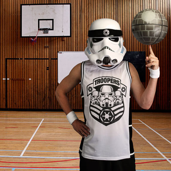 Star Wars Stormtrooper Basketball Jersey