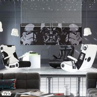 Star Wars Stormtrooper Darth Vader Media Chairs