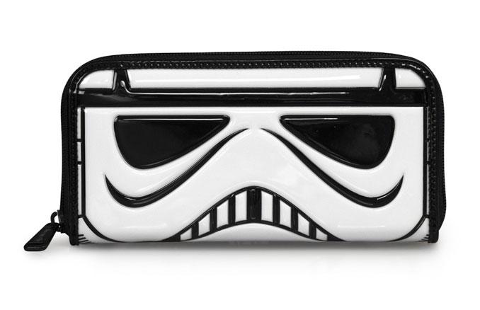 Star Wars Stormtrooper Patent Face Wallet