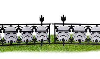 Star Wars Stormtrooper Fence 2-Pack