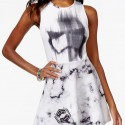 Juniors Star Wars Stormtrooper Fit-and-Flare Dress