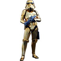 Star Wars Stormtrooper Gold Chrome Sixth-Scale Figure