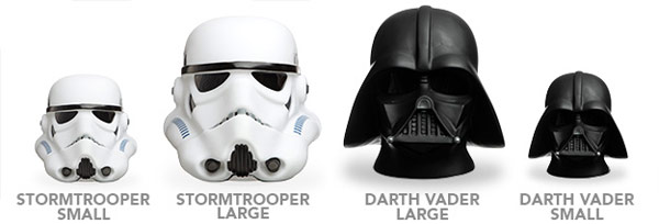 Star Wars Stormtrooper Lamps