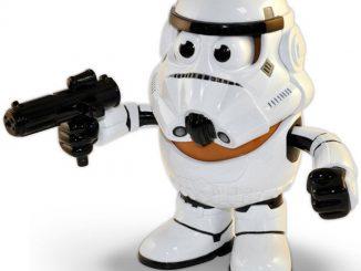 Star Wars Stormtrooper Mr. Potato Head Toy