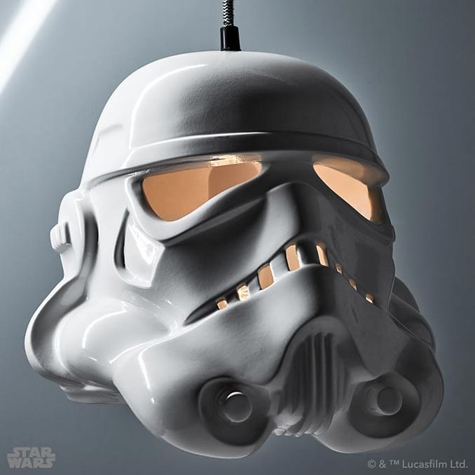 Star Wars Stormtrooper Pendant Light