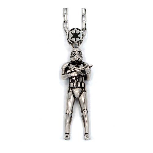 Star Wars Stormtrooper Pendant Necklace