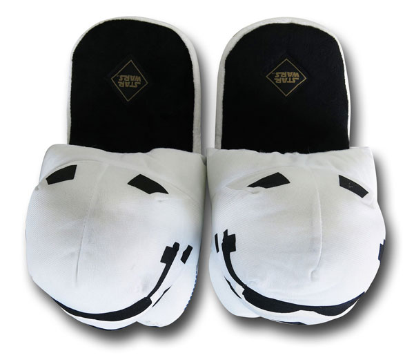 Star Wars Stormtrooper Slip-on Slippers