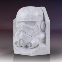 Star Wars Stormtrooper Stoneworks Bookends