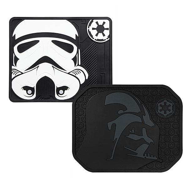 Star Wars Stormtrooper and Darth Vader Automotive Floor Mats